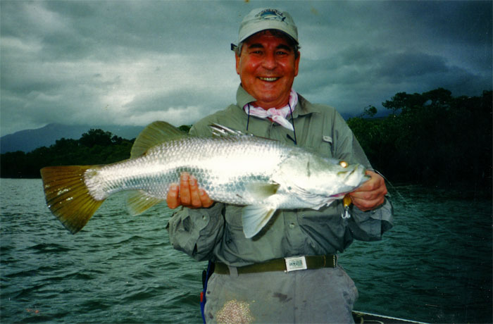 nice sized barramundi