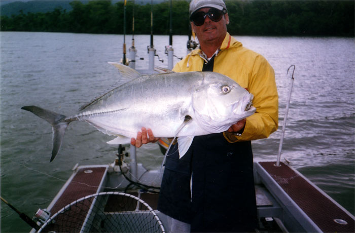 a good sized trevally