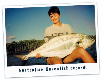 Australian Queenfish record